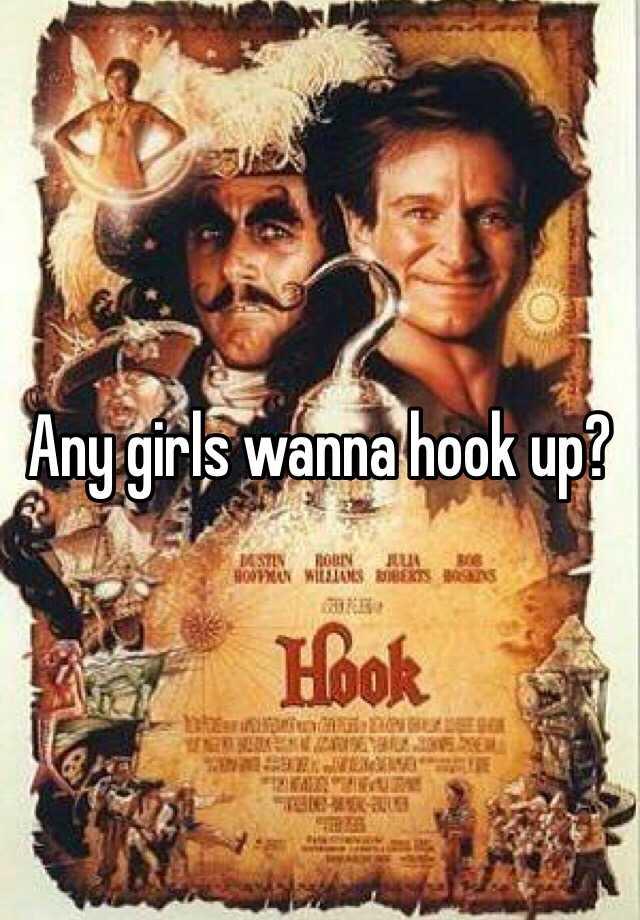 Any girls wanna hook up?