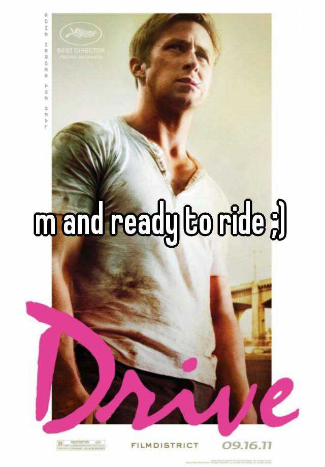 m and ready to ride ;)